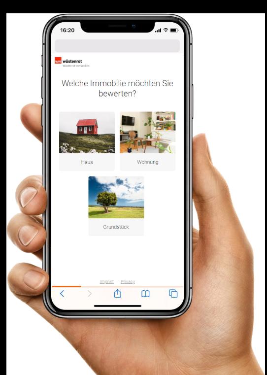 Immobilien Marketing Handy